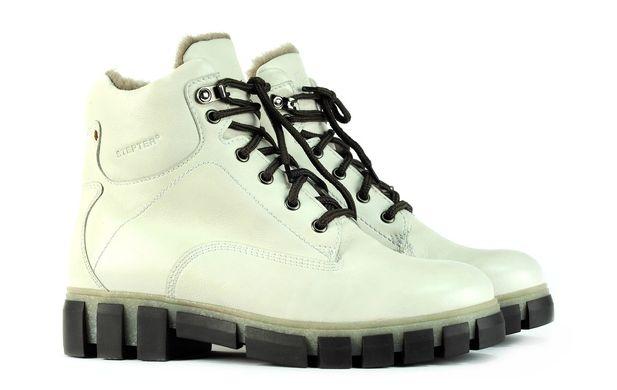 Жіночі черевики білі 6733-1 в інтернет магазині STEPTER 1b268dc6e27f5