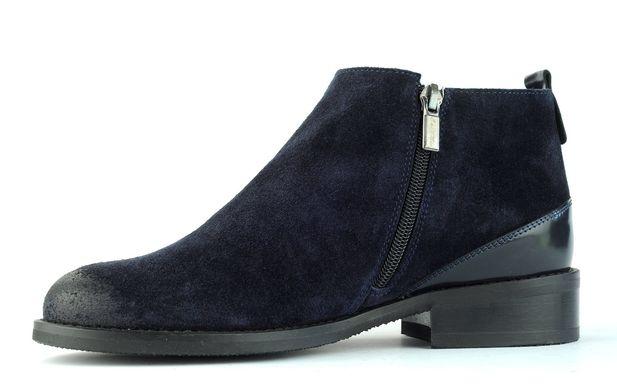 7392261a2 Женские ботинки синие 6592 в интернет магазине STEPTER