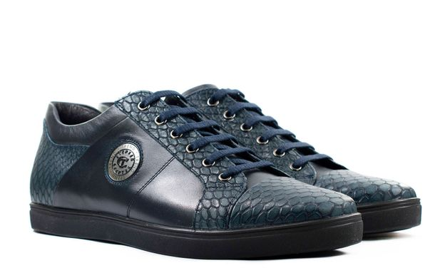 9ed81bd1a Мужские кроссовки синие 5734 в интернет магазине STEPTER