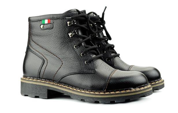 Чоловічі черевики чорні 3507 в інтернет магазині STEPTER c5cbe4cf9279c